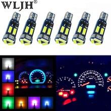 WLJH 6x Hohe Helle Canbus LED T5 17 37 73 74 286 2721 4014 SMD Auto Instrument Panel Cluster Gauge glühbirne Lampe Keine Polarität