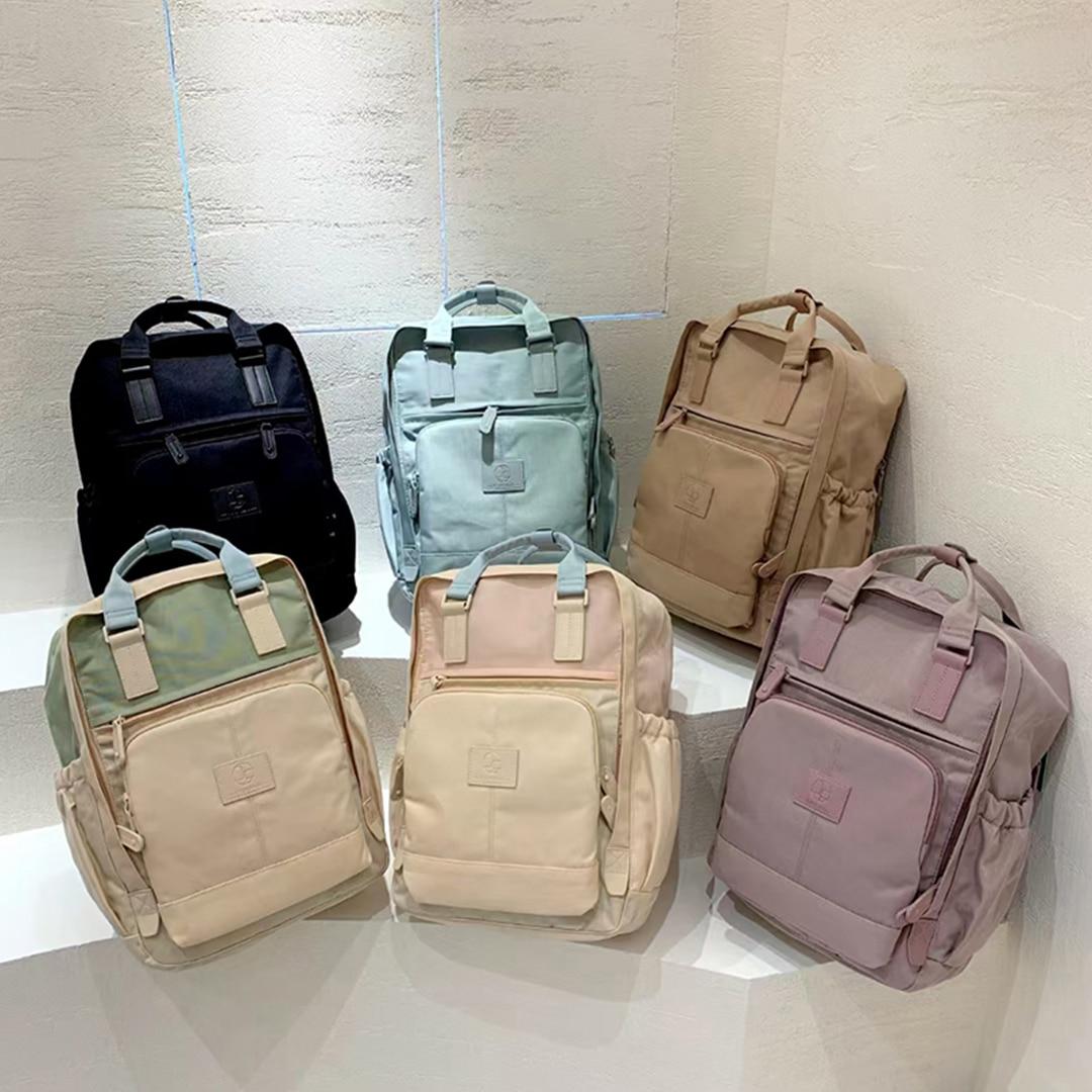Multi-Pocket Women Backpacks Kawaii School Backpack Girls Backpack High Capacity Waterproof Travel B
