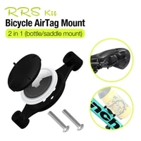 rrskit bicycle airtag mount protective sleeve for apple airtags locator tracker anti lost device smarttag sleeve mount for bike