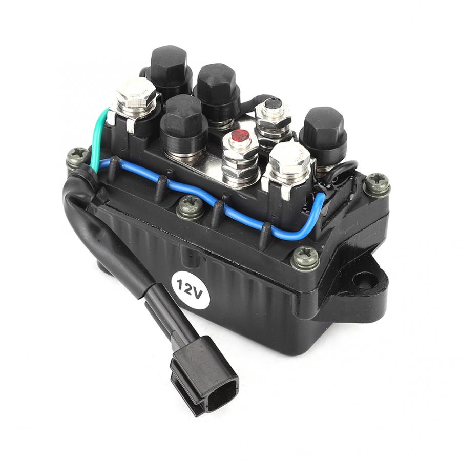 Накладка на двигатель реле в сборе 63P-81950-00-00 подходят для Yamaha подвесной двигатель 4 тактный металлической отделкой Реле Автомобильные аксессуары