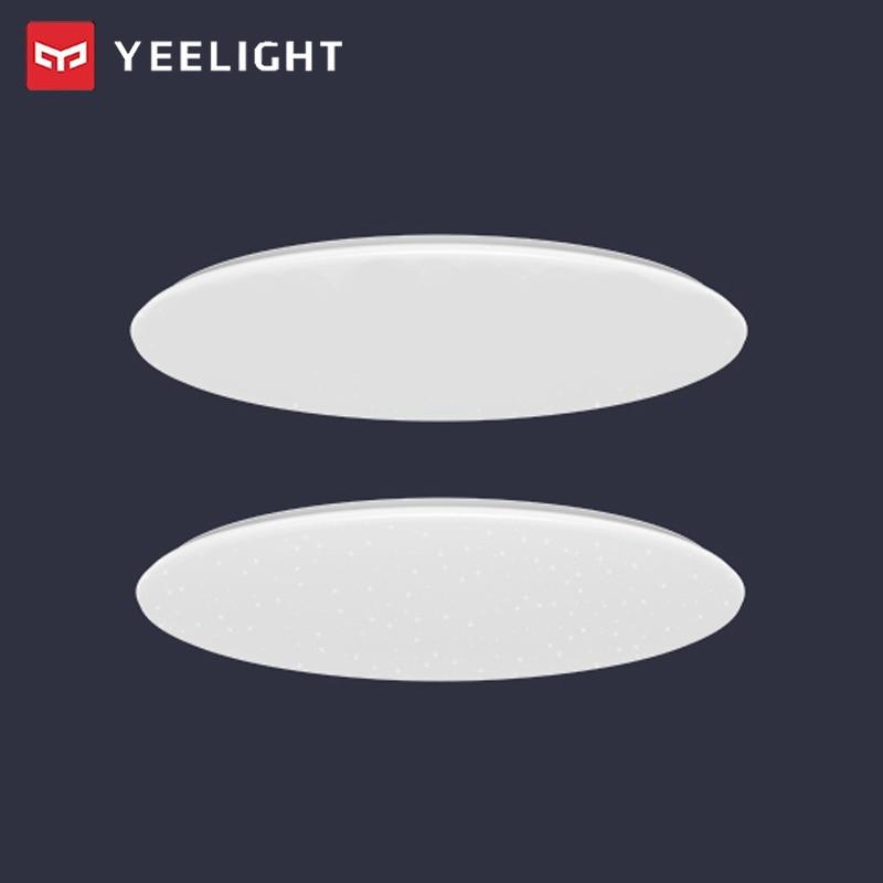 2 uds, Yeelight JIAOYUE 480, lámpara de techo LED inteligente moderna, aplicación inteligente con Control Bluetooth, iluminación interior de 220V con Control remoto