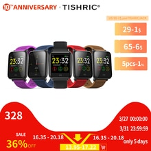 TISHRIC GPS Q9 Smartwatch Bracelet Women/Men Ip67 Waterproof Sport Support Android IOS Apple Iphone Smart Watch Bracelet Band