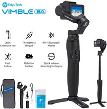 FeiyuTech Feiyu Vimble 2A экшн камера карданный Ручной Стабилизатор с 180 мм удлинителем для Gopro Hero 5 6 7