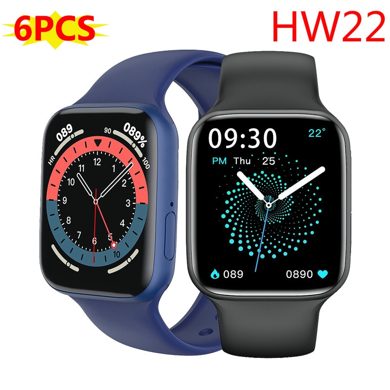 Get 6pcs IWO 13 HW22 Smart Watch