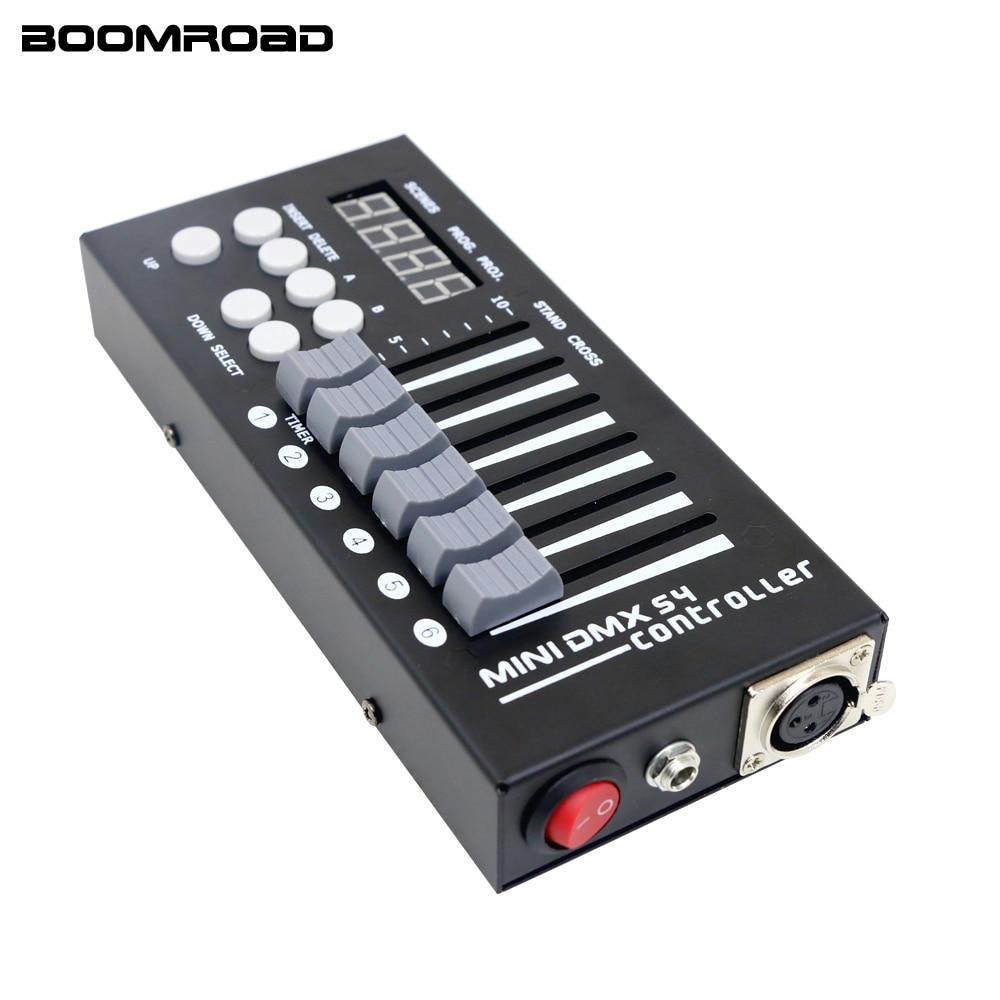 وحدة تحكم Dmx صغيرة محمولة للمنزل ، وحدة تحكم DJ لإضاءة المسرح ، وحدة تحكم DMX 54ch للمنزل ، تأثيرات إضاءة Led Par