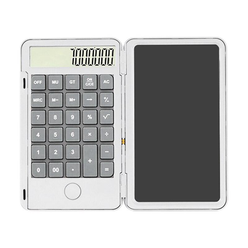 6.5 بوصة 2 في 1 قابلة للشحن آلة حاسبة تابلت للكتابة الذكية لوح رسم LCD الرسم بخط اليد