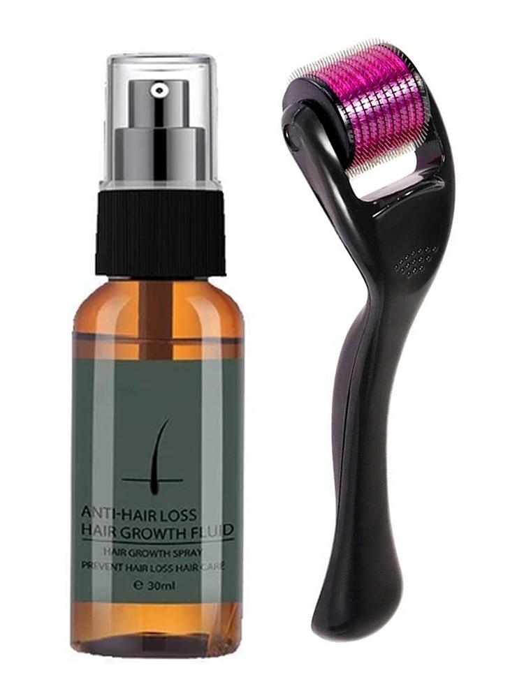 Natural Men Beard Growth Essence Spray Hair Loss Treatment Conditioner Groomed Fast Beard Growth Enh