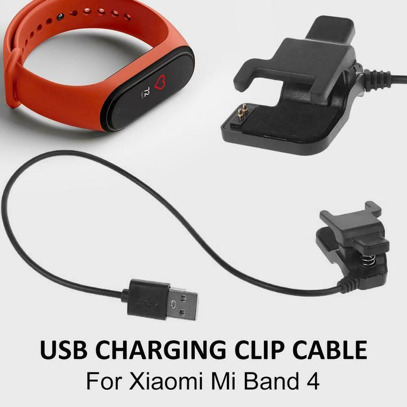 Зарядное устройство для Mi Band 4 без разборки кабель зарядное устройство адаптер USB зарядный док-кабель Шнур зарядное устройство смарт-часы зарядный зажим