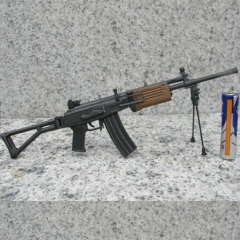 """En Stock 1/6 Escala de plástico Israel Galil Rifle de asalto arma modelo plegable arma de cola juguetes se ajustan 12 """"figura de acción"""