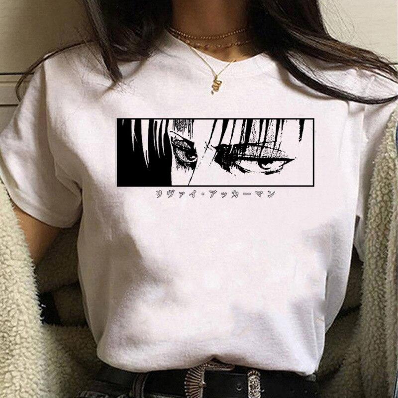 Футболка-kawaii-футболка-«атака-на-Титанов»-Женская-милая-аниме-унисекс-крутая-футболка-в-стиле-хип-хоп-уличная-одежда-топы-футболки-женс