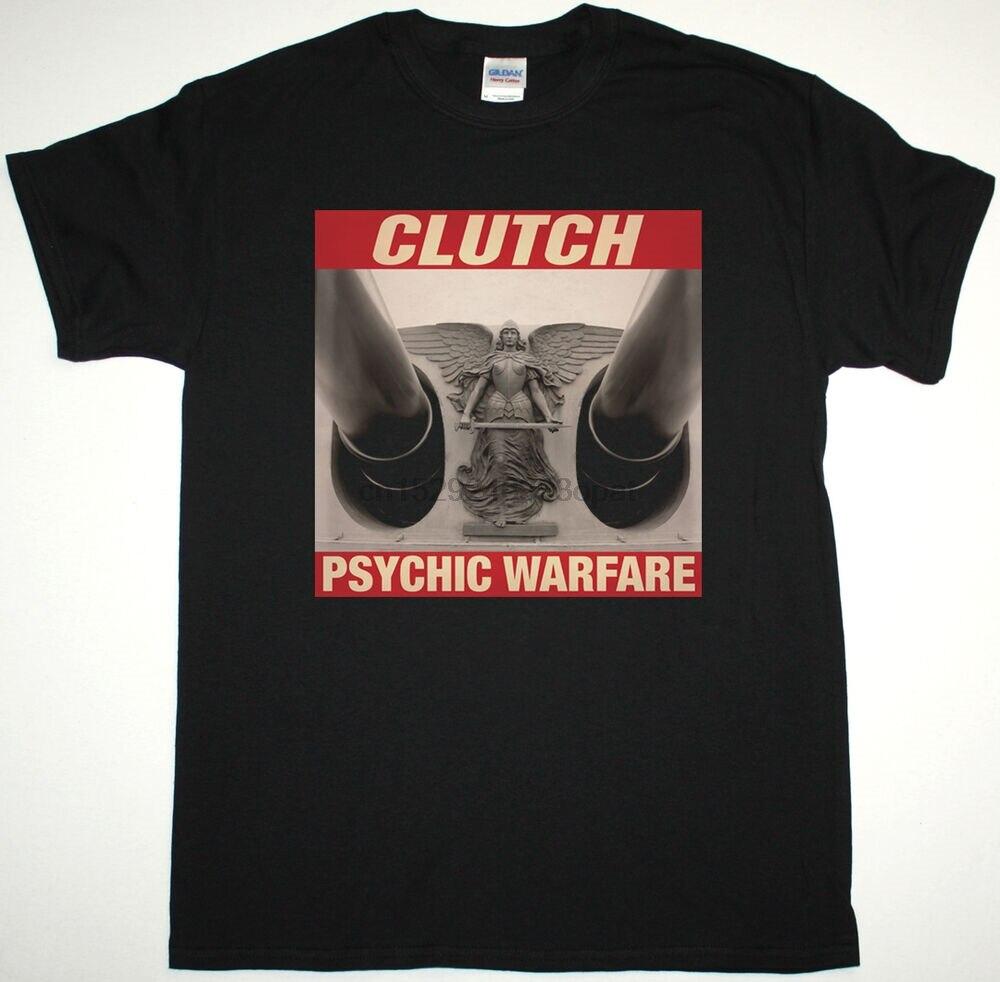 CLUTCH, camiseta de guerra vidente negra, STONER, imán de monstruo de METAL alternativo
