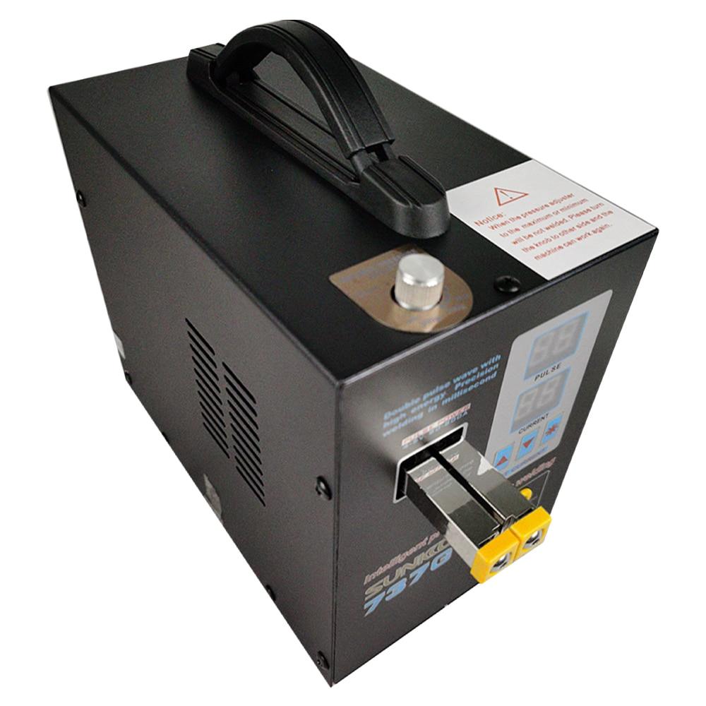 Battery Spot Welder 4.3KW SUNKKO 737G High Power Automatic Spot Welding Machine For 18650 Lithium Batteries Pulse Spot Welders enlarge