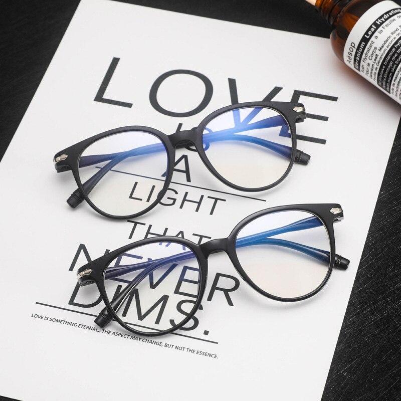 AliExpress - Anti Blue Light Glasses Women PC Frame Plain Eyeglasses Man Vintage Optical Eyewear Blocking Gaming Gafas Oculos feminino