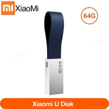 Original xiaomi mijia USB 3.0 lecteur Flash U disque stylo lecteur Portable USB disque 64G Transmission à grande vitesse corps en métal taille compacte