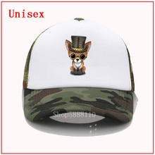 Mode drôle net casquette Steampunk bébé renard rouge impression casquette de baseball hommes femmes été tendance casquette nouveau Joker soleil chapeau plage visière