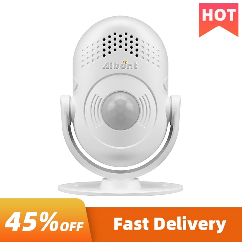 Wireless Sensor Welcome Doorbell Infrared Alarm Smart Human Easy Operation Body Induction Anti-Theft