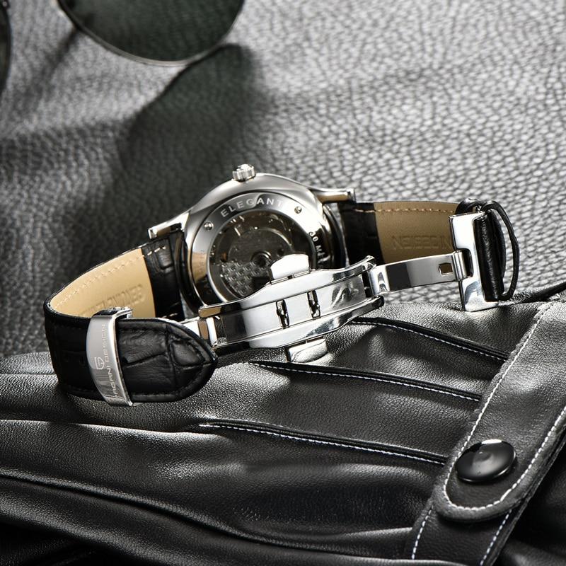 PAGANI Design Automatic Mechanical Men's Watches Leather Watch Men Luxury Men Watch Business Waterproof Clock Relogio Masculino enlarge