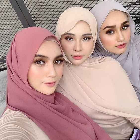 Fashion Plain Bubble Chiffon Scarf Women S Hijab Wrap Solid Colorshawls Headband Muslim Hijabsturbanet Headscarf 49colors Women S Scarves Aliexpress