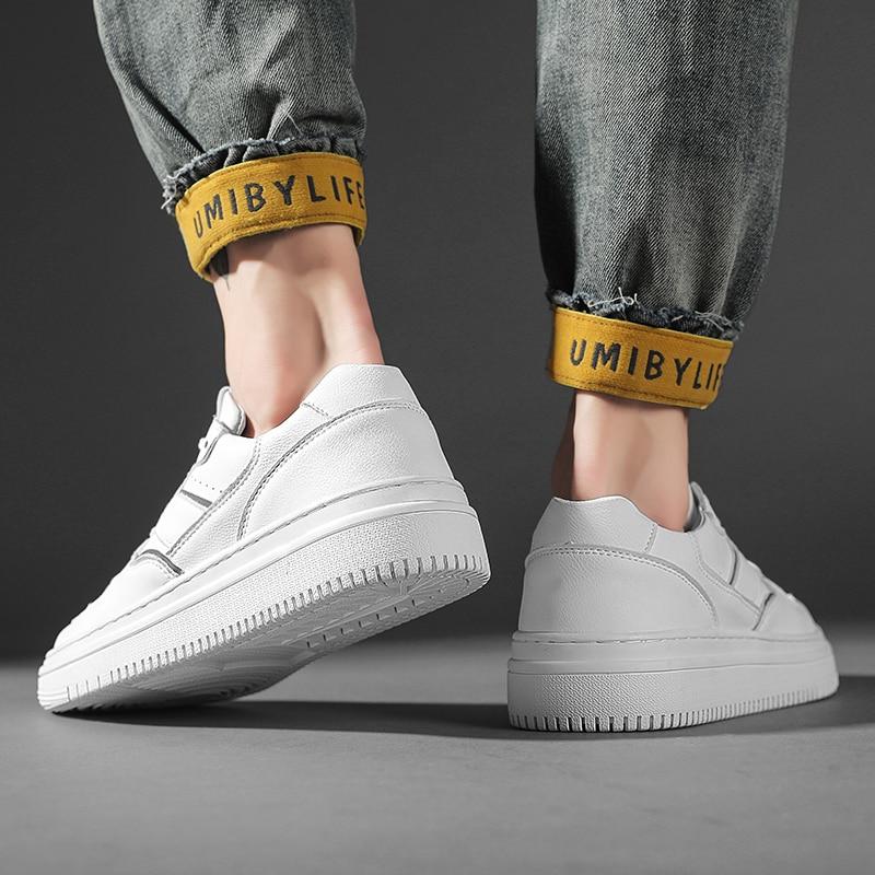 حذاء فاخر في الهواء الطلق جديد الرجال حذاء كاجوال الصيف موضة تنفس لشبكة النسيج الترفيه أحذية رياضية المتسكعون الأبيض رجالي
