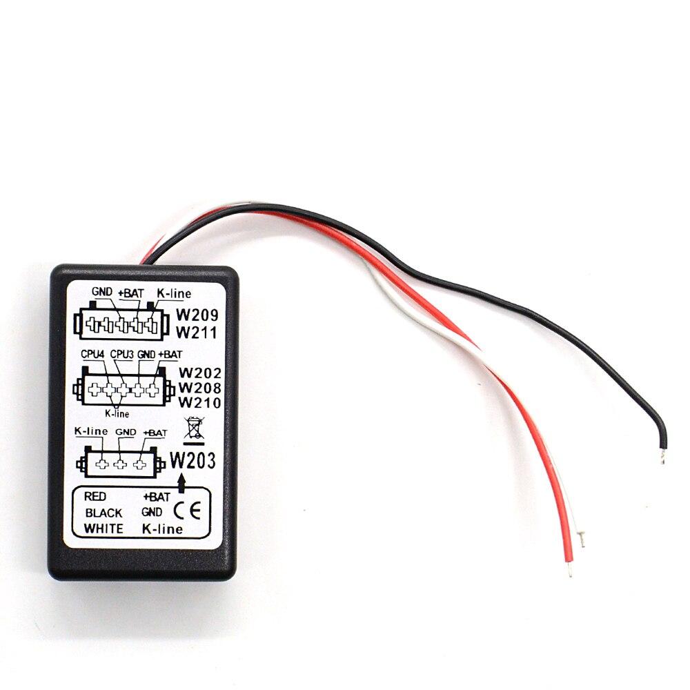 Pour Merc * edes MB ESL émulateur outil professionnel IMMO gomme émulateur Support W202,W203,W208,W209,W210,W211 meilleure qualité