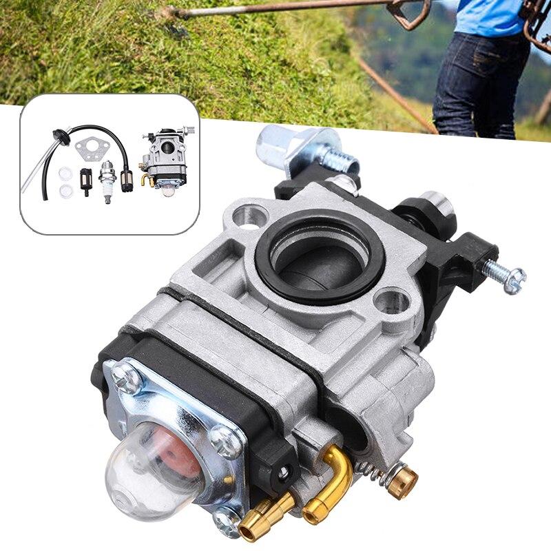 Kit de carburador para pincel, kit para carburador, junta, reparo de filtro, pincel, peças adequadas para 52ccm e 49ccm