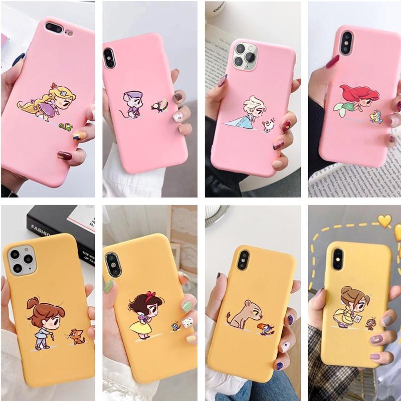 Parodia Alice Belle Cenicienta Princesa para IPhone 11 Pro Max caso 8 6S 6 7 Plus caso suave Tpu caso para Iphone Xs Max X Xr SE 2020