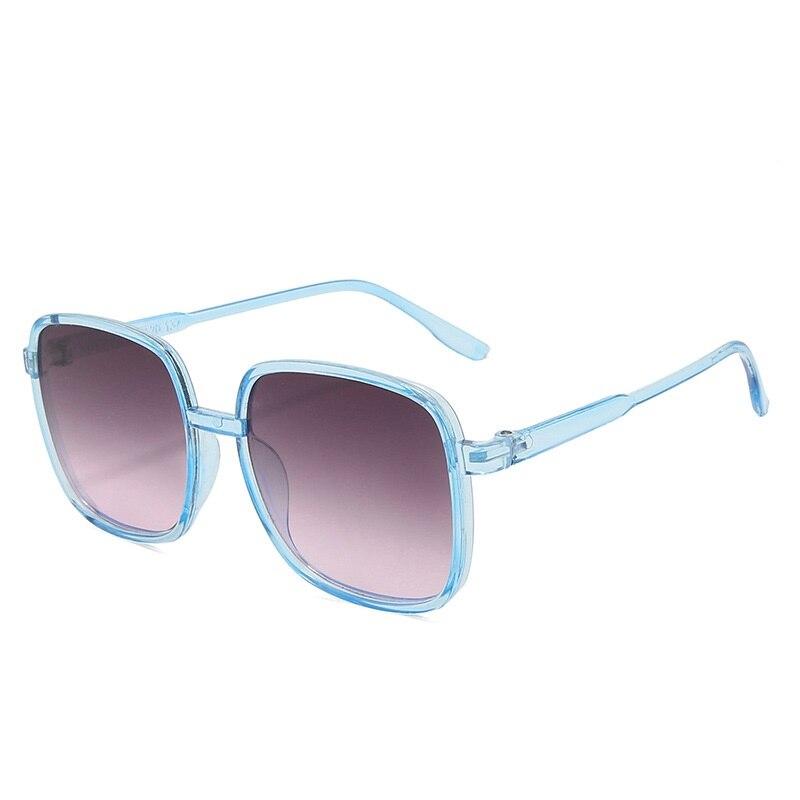 Square Oversized Sunglasses Women Brand Designer Glasses Women/Men Luxury Sunglasses Women Vintage Oculos De Sol Feminino luxury oversize sunglasses women vintage rhinestones sunglasses round glasses men shades for women oculos feminino