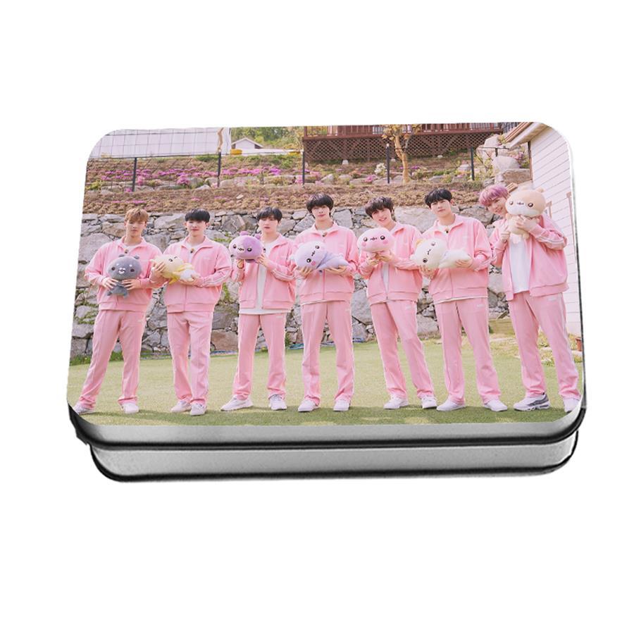 Kpop Monsta X Twotuckgom Collective Photocard Shownu I M Polaroid Lomo Photo Card Kihyun 40 шт.