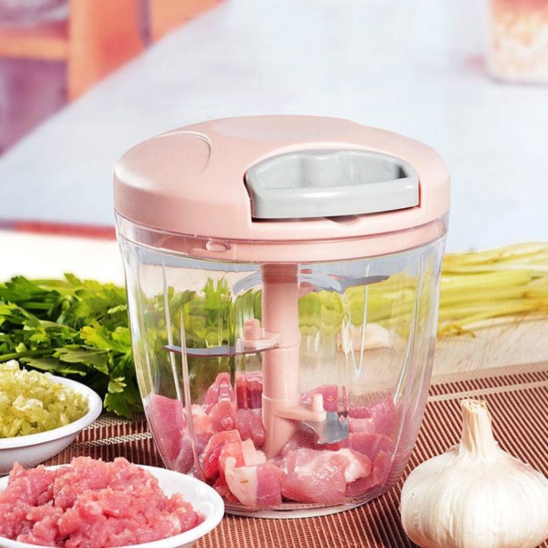 Cortador de verduras giratorio de 900ML, rebanador, prensa de ajo y fruta,...