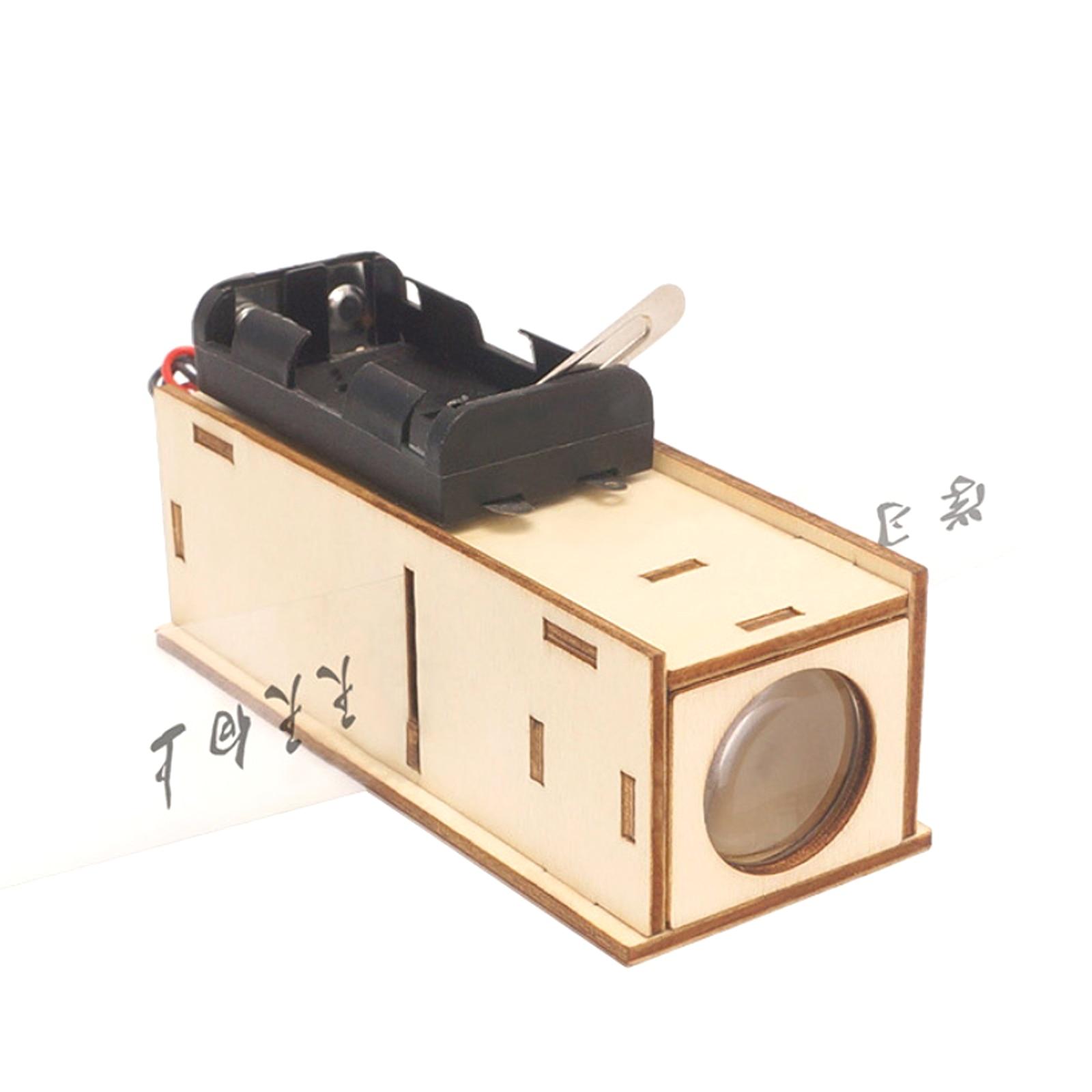DIY видеопроектор модельная лампа ручной работы материалы научно-исследовательских игрушки для экспериментов