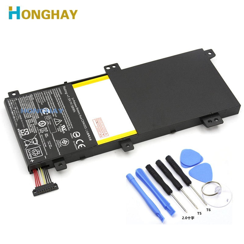HONGHAY C21N1333 New Laptop battery for ASUS Transformer Flip TP550L TP550LA TP550LD TP550LJ 7.5V 38WH 4900MAH