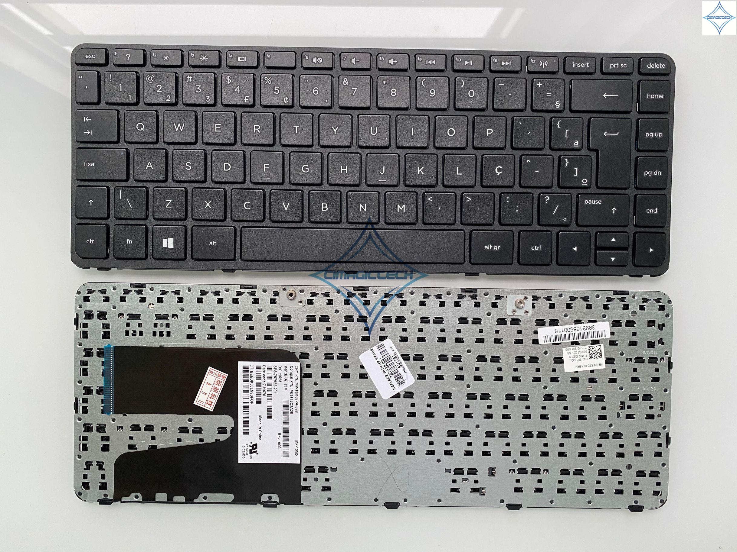 Nouveau pour HP 240 G2 245 G3 14-N 14-R 14-D 14-g000 14-r000 14-n000 14-w000 14-d000 br Brésil clavier dordinateur portable Portugais teclado