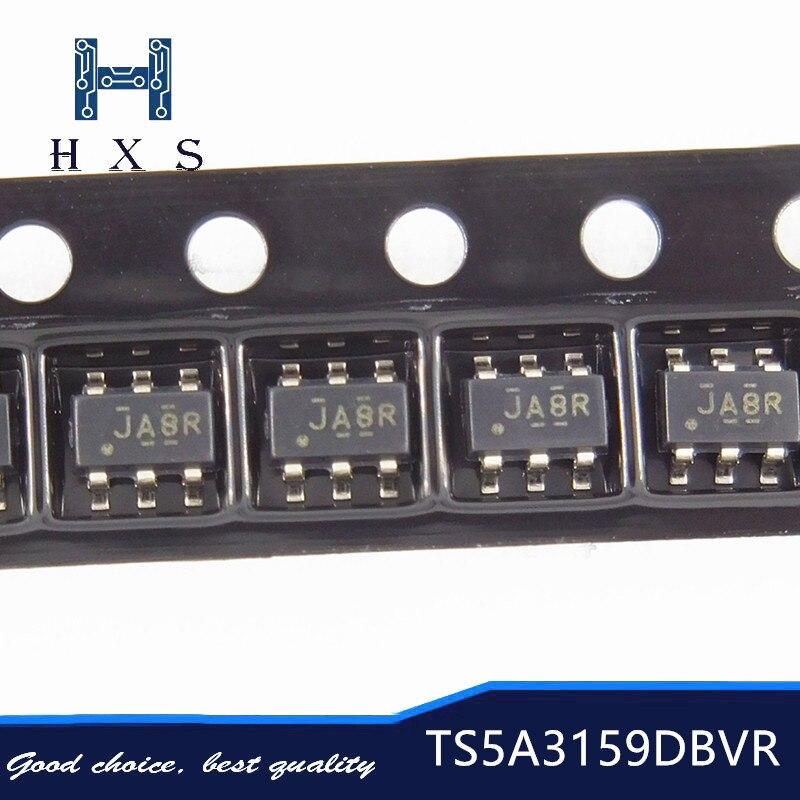 10 pcs TS5A3159DBVR TS5A3159DBV SOT-23 TS5A3159 TS5A3159D TS5A3159ADBVR SOT23-6 novo e Original