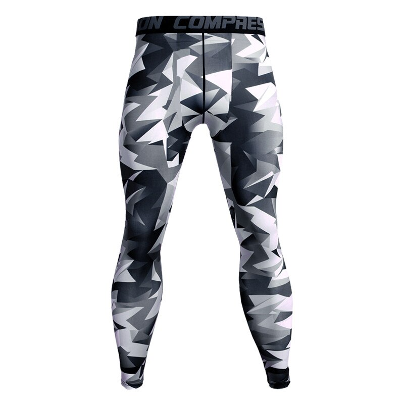 Фото - Compression Pants Running Tights Men Training Fitness Sports Leggings Gym Jogging Trousers Male Sportswear Yoga Workout Bottoms men tights pants running training fitness sports leggings pocket gym jogging long sweat pants elastic breathable exercise pants