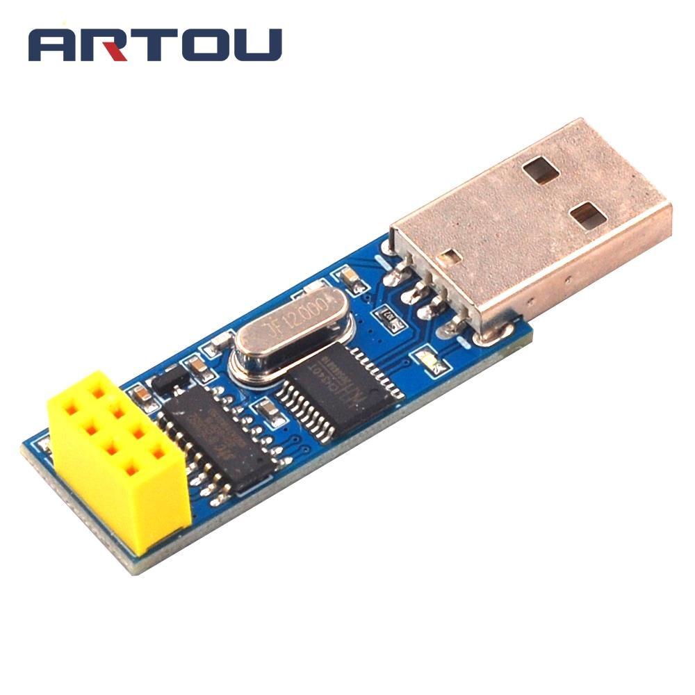 USB wireless serial port module serial to nRF24L01 + digital communication remote control acquisition module nRF2401
