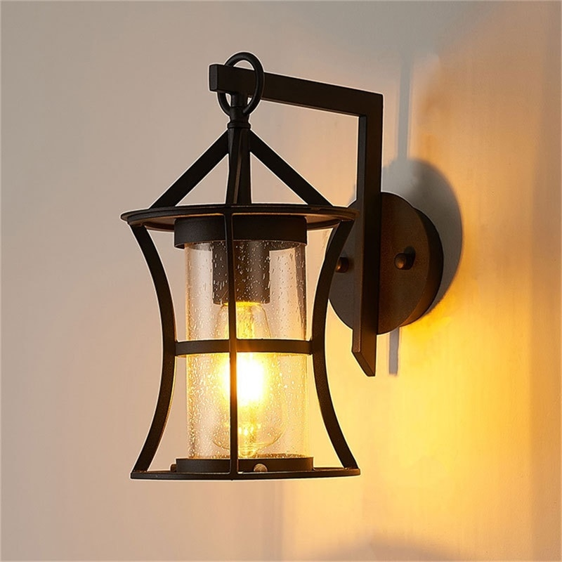 BROTHER Outdoor Classical Wall Lamp LED Light Waterproof IP65 Sconces For Home Porch Villa Decoration enlarge