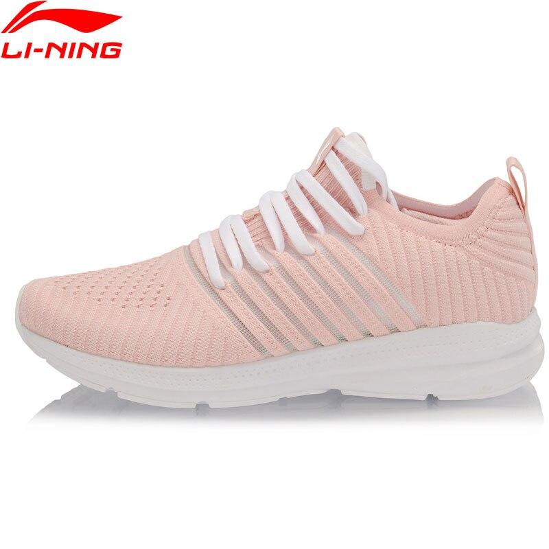 Li-Ning Women REACTOR Cushion Running Shoes Breathable Mono Yarn Comfort LiNing li ning Sport Shoes Sneakers ARHP058