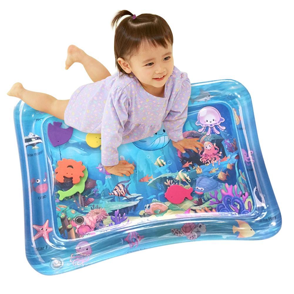 Baby Crawling Water Mat Inflatable Play Mat Playmat Toddler Pad Baby Cushion Play Water Cushion Pad For Newborn Drop shipping