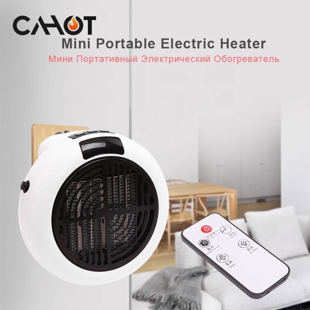 CAHOT سخان كهربائي صغير محمول 220 فولت سطح المكتب التدفئة الدافئة مروحة الهواء مكتب المنزل جدار مفيد مسخن الهواء الحمام المبرد دفئا