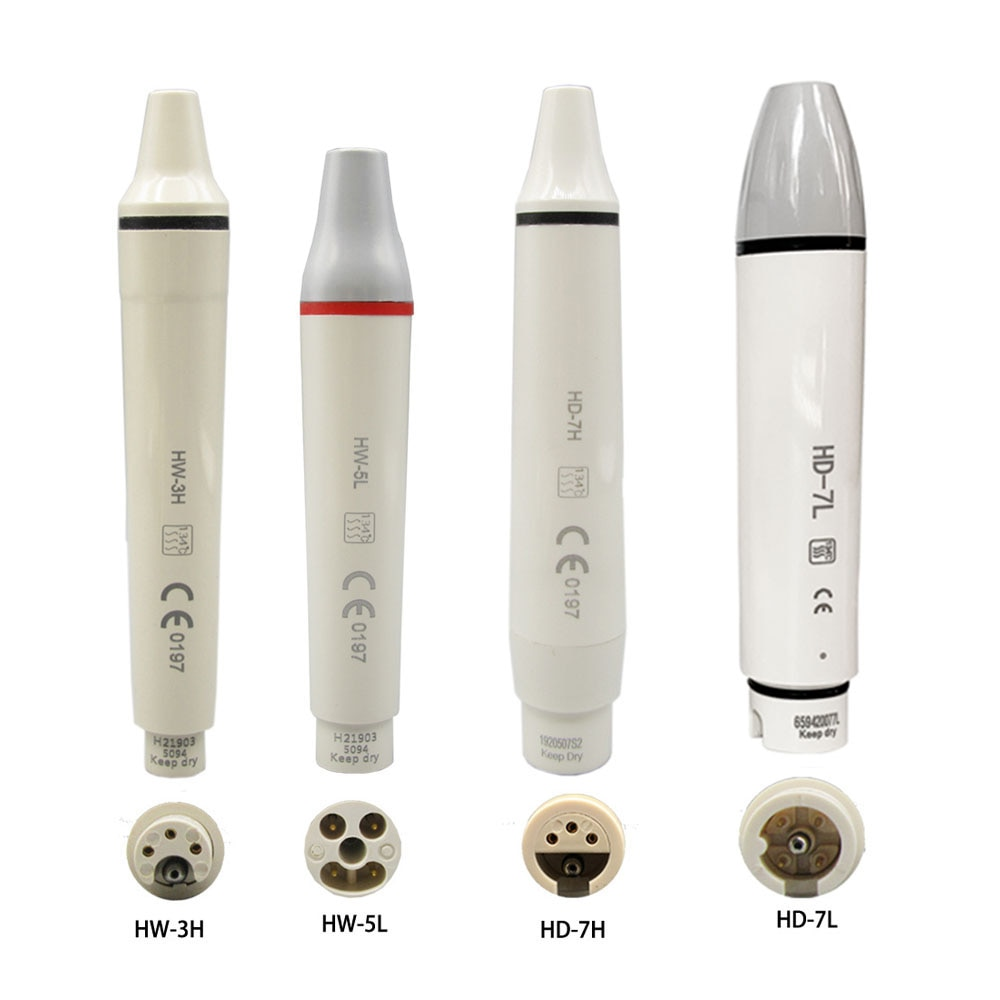 Ultrasonic Piezo Scaler Handpiece HW-3H for SATELEC DTE WOODPECKER EMS VRN Dental Ultrasonic Scalers teeh cleaning whitening pen 2 sets eprks scaler prosthetics kit compatible with ems maintenance set and ems piezon master 600 premium and woodecker scalers