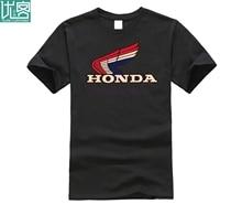 2019 yeni yaz Tee gömlek japon motosiklet t-shirt X-LARGE motosiklet cbr kanat crf kırmızı beyaz mavi RETRO hoş t-shirt