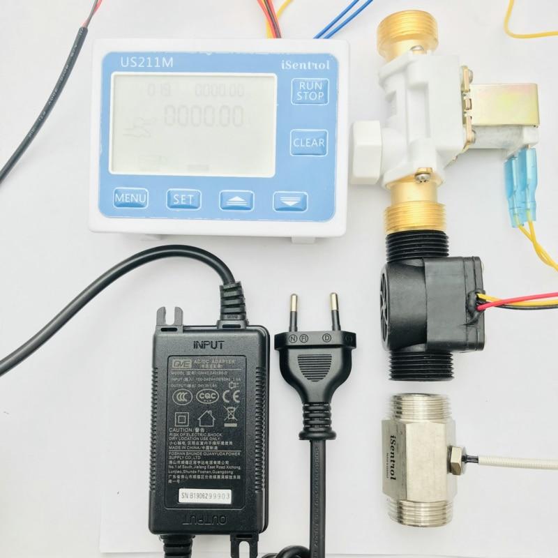 US211M-قارئ التدفق ، وحدة التحكم في الجرعات لـ BSPP G3/4
