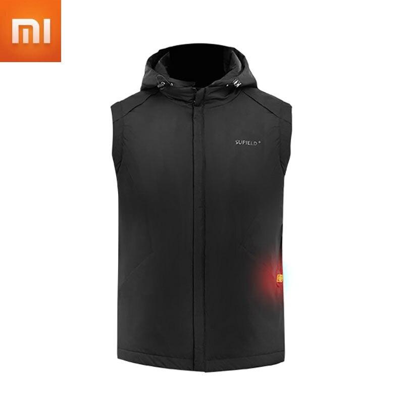 Youpin-سترة ساخنة USB ، سترة دافئة وحرارية ، ملابس شتوية ، مقاومة للبرد