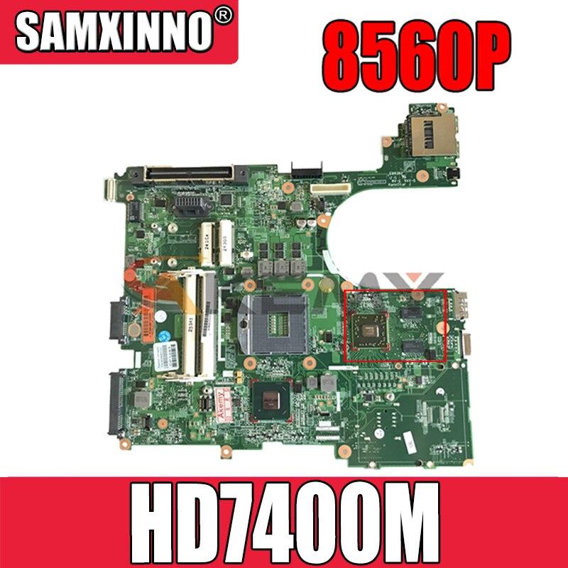 AKemy محمول لوحة رئيسية لأجهزة HP بي Elitebook 6560B 8560P QM67 HD7400M اللوحة 684323-001 684323-501 0105FM00 SLJ4M 216-0809024