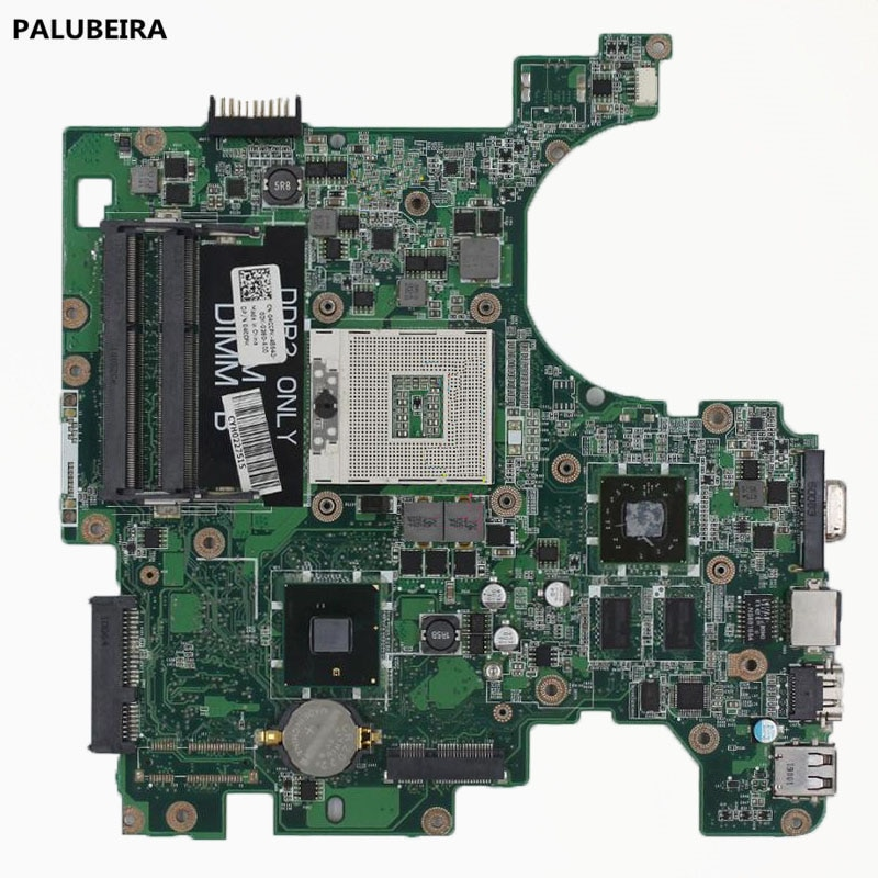 PALUBEIRA DA0UM3MB8E0 CN-04CCPK 04CCPK placa principal para Dell Inspiron 1564 placa base de computadora portátil con tarjeta gráfica chips 100% prueba O