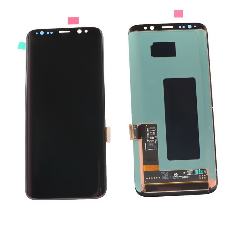 Original LCD With Frame For Samsung Galaxy S8 S8+ S8plus G950 G950F G955FD G955 LCD Display touch screen components+dead pixels enlarge