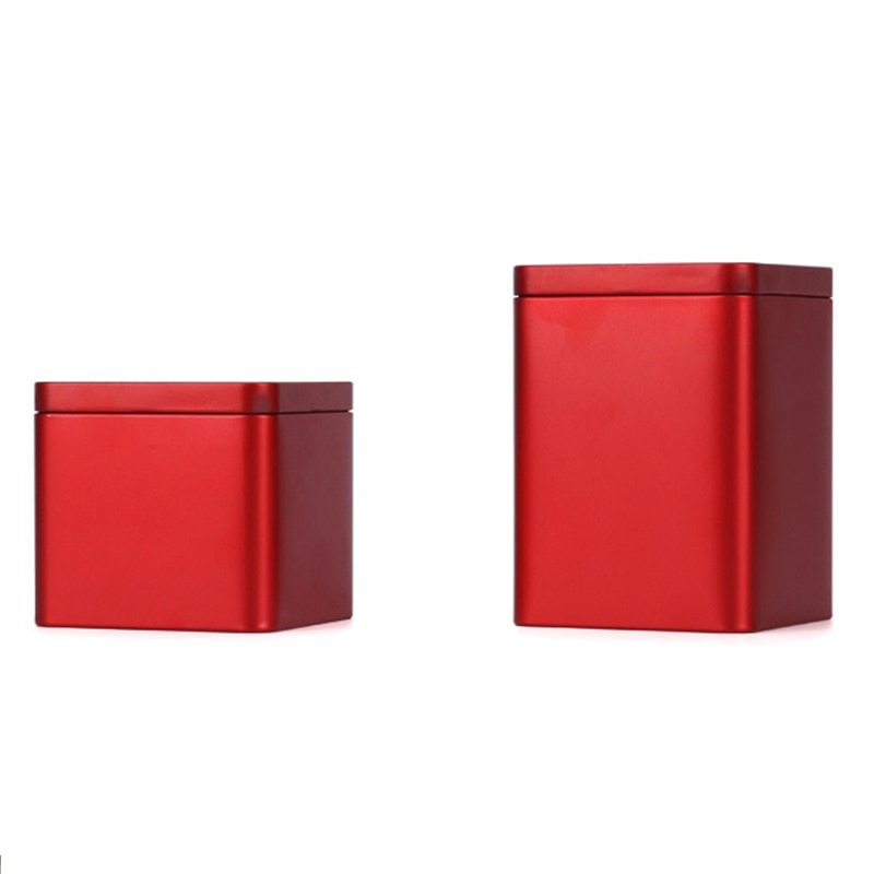 Xin Jia Yi empaquetado de tabaco personalizado latas cuadradas