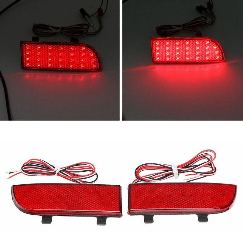 Car Rear Bumper LED Tail Light Brake Light Reflector for Mercedes-Benz Sprinter W906 2006 -2016 Vito Viano W639 2003-2014