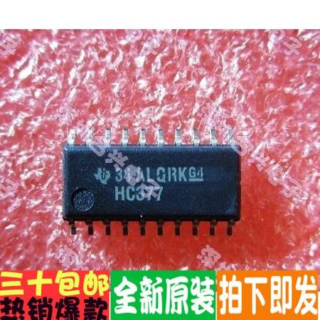 100% novo & original HC377 SN74HC377NSR SOP20