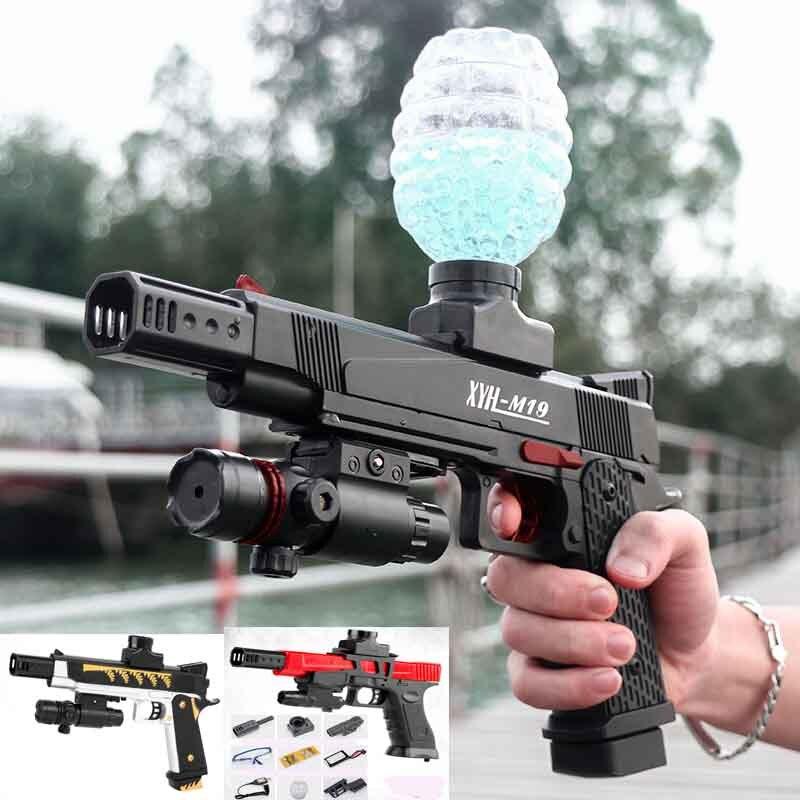 Electric Gun Gel Ball Gun Water Bullet Air gun Pistol bb Gun Outdoor Game Airsoft Air Bb Gun Boy Toys Weapon Fake Gun